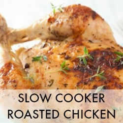 Natural Health Blog Real Food Recipes Natural Remedies - Roast a Chicken in the Crock Pot