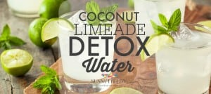 Detox Water Recipe: Coconut Mint Limeade