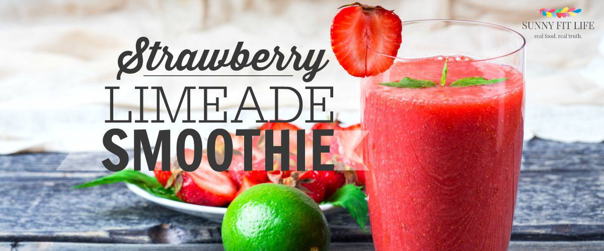 healthy smoothie recipe strawberry limeade benefits of lime essential ...