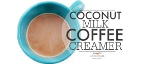 Coconut Milk Coffee Creamer: Dairy Free
